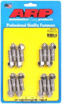 "ARP - ARP Stainless Steel Header Stud Kit - 3/8"" x 1.670"" - Hex - SB Chevy"