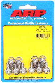 ARP - ARP Stainless Steel Timing Cover Bolt Kit - 12-Point - BB Chevy, SB Chevy