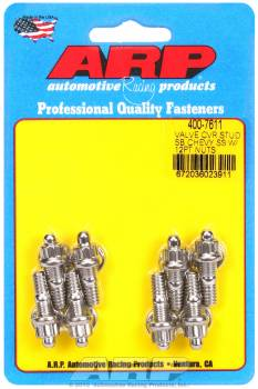 "ARP - ARP Stainless Steel Valve Cover Stud Kit - For Stamped Steel Covers - 1/4""-20 - 1.170"" UHD - 12-Point (8 Pieces)"