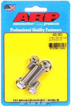 ARP - ARP Stainless Steel Fuel Pump Bolt Kit - Hex - BB Chevy, SB Chevy