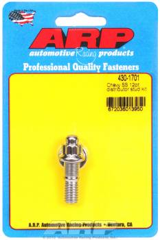 ARP - ARP Stainless Steel Chevy Distributor Stud Kit Polished - 12-Point - SB Chevy, BB Chevy