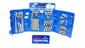 ARP - ARP SB Ford Stainless Steel Complete Engine Fastener Kit - Hex - Ford 351W