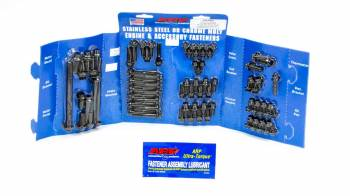 ARP - ARP SB Ford Complete Engine Fastener Kit - Black Oxide - 12-Point - Ford 351W