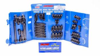 ARP - ARP SB Ford Complete Engine Fastener Kit - Black Oxide - Hex - Ford 351W