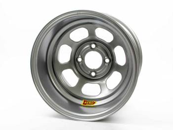 "Aero Race Wheel - Aero 31 Series Spun Wheel - Silver - 13"" x 8"" - 2"" Offset - 4 x 4.25"" Bolt Circle - 14 lbs."