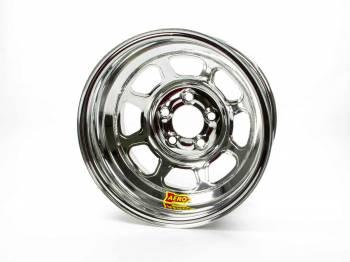 "Aero Race Wheel - Aero 56 Series Extreme Bead Spun Racing Wheel - Chrome - 15"" x 8"" - 2"" Back Spacing - 5 x 5"" Bolt Circle - 18 lbs."