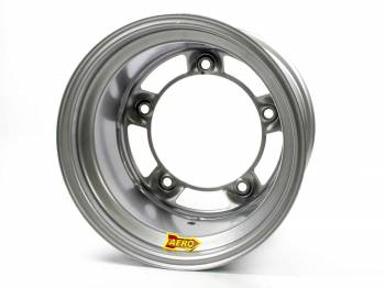 "Aero Race Wheel - Aero 58 Series Rolled Wheel - Silver - 15"" x 10"" - Wide 5 - 5.5"" Back Spacing - 18 lbs."