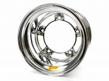 "Aero Race Wheel - Aero 58 Series Rolled Wheel - Chrome - 15"" x 10"" - Wide 5 - 4"" Back Spacing - 18 lbs."