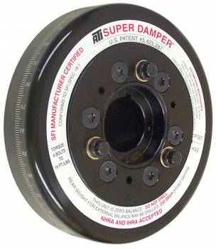 "ATI Products - ATI Super Damper® Harmonic Damper - SB Chevy - 6.325"" Diameter - Aluminum/Steel - Internal Balance"