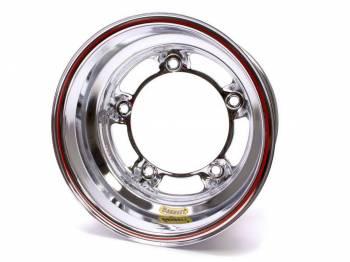 "Bassett Racing Wheels - Bassett Wide 5 Spun Wheel - 15"" x 8"" - Chrome - 4"" Back Spacing - 15.5 lbs."