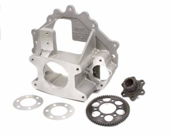 Bert - Bert Aluminum Late Model Bellhousing and Aluminum Gilmer Crank Hub Package - Chevy