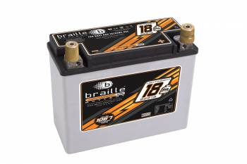 Braille Battery - Braile B2618 Lightweight AGM Racing Battery - 12 Volt - 1168 Amps