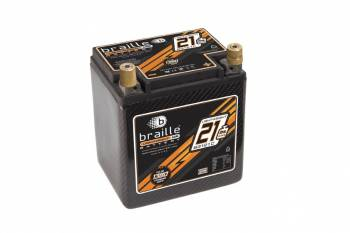 Braille Battery - Braille B3121C Racing Battery - Carbon Fiber Case