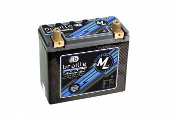 Braille Battery - Braille ML20C MICRO-LiTE Carbon Lithium Battery - 12 Volt - 1152 Amps