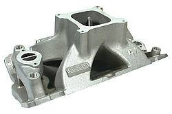 BRODIX - Brodix High Velocity Intake Manifold - SB Chevy - Fits Brodix -18X Heads - Will Not Fit Brodix 18 C Heads