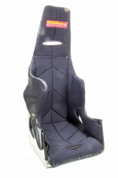 "ButlerBuilt Motorsports Equipment - ButlerBuilt® 17"" Pro Sportsman Seat - 25° Layback Design - Black Cover"