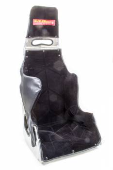 "ButlerBuilt Motorsports Equipment - ButlerBuilt® Pro Sportsman Plus Seat w/ Black Cloth Cover - Hans Cutout - 25° Layback - 17"""