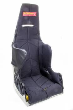 "ButlerBuilt Motorsports Equipment - ButlerBuilt® 19"" Pro Sportsman Seat - 25° Layback Design - Black Cover"