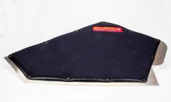 ButlerBuilt Motorsports Equipment - ButlerBuilt® Single Layer Large Leg Support - RH - Black