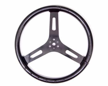 "ButlerBuilt Motorsports Equipment - ButlerBuilt® 15"" Flat Aluminum Steering Steering Wheel - Black"