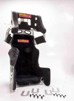 "ButlerBuilt Motorsports Equipment - ButlerBuilt® Sprint Advantage Slide Job Seat & Cover - 16.5"""