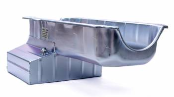Champ Pans - ChampPans Claimer Deep Rear Sump Oil Pan W. Louvered Windage Tray - 8 Quart - SB Chevy