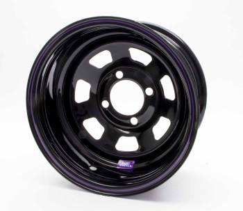 "Bart Wheels - Bart Mini Stock Wheel - Black - 13"" x 7"" - 4 x 4.5"" Bolt Circle - 4"" Back Spacing - 16 lbs."