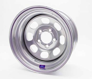 "Bart Wheels - Bart Standard Weight Wheel - Silver - 15"" x 8"" - 5 x 4.75"" Bolt Circle - 2"" Back Spacing - 28 lbs."
