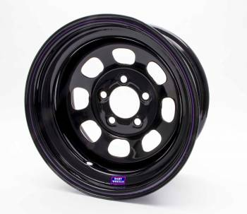 "Bart Wheels - Bart Standard Weight Wheel - Black - 15"" x 8"" - 5 x 4.5"" Bolt Circle - 2"" Back Spacing - 28 lbs."