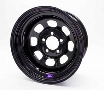 "Bart Wheels - Bart Standard Weight Wheel - Black - 15"" x 8"" - 5 x 4.75"" Bolt Circle - 2"" Back Spacing - 28 lbs."
