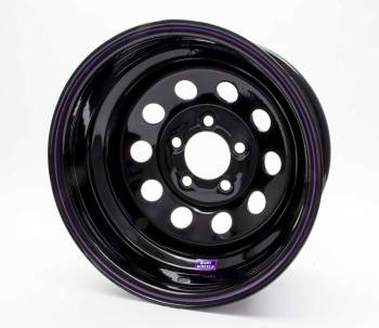"Bart Wheels - Bart Economy Lightweight Wheel - Black - 15"" x 8"" - 5 x 4.5"" Bolt Circle - 2"" Back Spacing - 21 lbs."