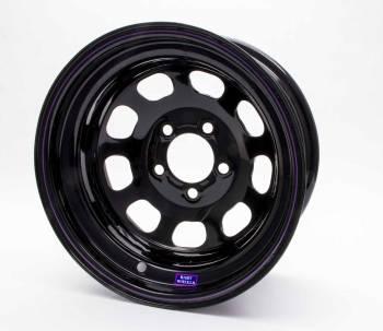 "Bart Wheels - Bart Reinforced Center Wheel - Black - 15"" x 8"" - 5 x 4.75"" Bolt Circle - 2"" Back Spacing - 26 lbs."