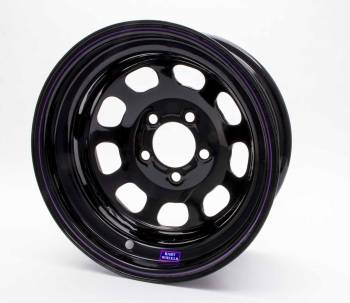 "Bart Wheels - Bart Reinforced Center Wheel - Black - 15"" x 8"" - 5 x 5.5"" Bolt Circle - 3"" Back Spacing - 26 lbs."