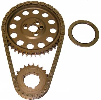 "Cloyes - Cloyes Hex-A-Just® True® Roller Timing Chain Set - .005"" Reduced Center Distance - SB Chevy ""Rocket"" Block"