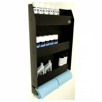 Clear 1 Racing - Clear One Door, Wall Cabinet w/ 2 Roll Paper Towel Holder