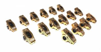 "Comp Cams - Comp Cams Ultra-Gold™ Rocker Arms - SB Chevy V8 265-400 - 3/8"" Stud - 1.5 Ratio (Set of 16)"