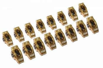 "Comp Cams - Comp Cams Ultra-Gold™ Rocker Arms - SB Chevy V8 265-400 - 3/8"" Stud - 1.6 Ratio (Set of 16)"
