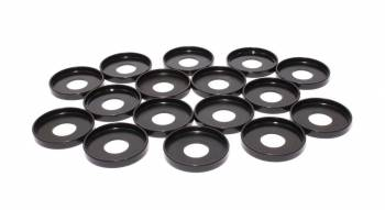 "Comp Cams - Comp Cams Valve Spring Cups - Outside,Steel,.060"" Thick,1.58 ""O.D.,.640 ""I.D.,1.475 ""Spring O.D.,Set of 16"