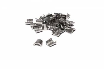 "Comp Cams - Comp Cams 7° Valve Locks - Hardened Steel - Single Groove - 5/16"" - (Set of 16)"