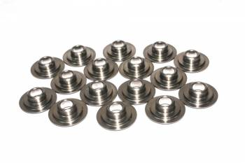 "Comp Cams - Comp Cams 10° Titanium Double Super Lock Valve Spring Retainers - Double Spring 1.500-1.550"" - .730""-1.135"" - (Set of 16)"