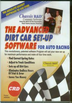 Chassis R & D - Chassis R&D Advanced Dirt Chassis Set-Up Program