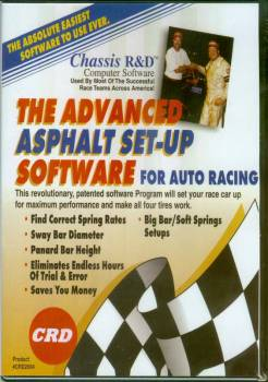 Chassis R & D - Chassis R&D Advanced Asphalt Set-Up Program