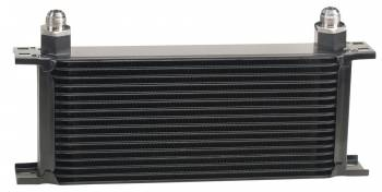 Derale Performance - Derale Stacked Plate Oil Cooler - 16 Row , -8 AN Fittings