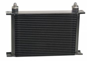 Derale Performance - Derale Stacked Plate Oil Cooler - 25 Row, -6 AN Fittings