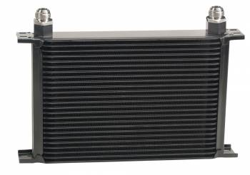 Derale Performance - Derale Stacked Plate Oil Cooler - 25 Row, -10 AN Fittings