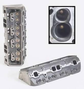"Dart Machinery - Dart Iron Eagle Platinum Cylinder Head - Bare - 64cc Chamber - 200cc Intake Runner - SB Chevy 327, 350, 400 - 2.02"" Valves, 1.60"" - Straight Plug"