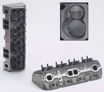 "Dart Machinery - Dart Iron Eagle Platinum Cylinder Head - Assembled - 64cc Chamber - 215cc Intake Runner - SB Chevy 327, 350, 400 - Straight Plug - 2.05"", 1.60"" Valves"