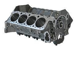 "Dart Machinery - Dart SHP Cast Iron Engine Block 4-Bolt Mains - 4.000"" Diameter Bore - 2-Piece Rear Main Seal"