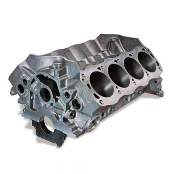 "Dart Machinery - Dart Iron Eagle Engine Block - SB Ford - Cast Iron - 4-Bolt Mains - 4.125"" Bore - 2-Piece Rear Main Seal - Ford - 302, 5.0L - 8.200"" Deck Ht. - 2.249"" Main Diameter"
