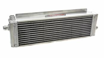 "Fluidyne - Fluidyne Therm-HX™ Engine Oil Cooler - Diminsions: 21"" x 5-7/8"" x 3"""